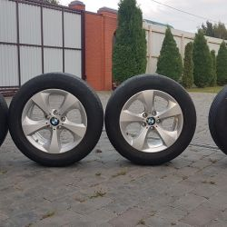 Set of summer wheels from BMW X3