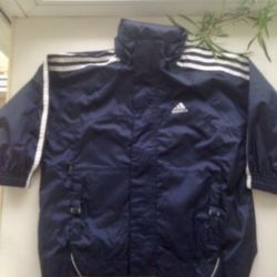 New windbreaker Adidas 104-110 cm