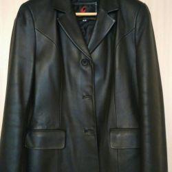 Leather jacket 48-50 size