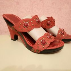 Sandals nat.kozha 35 r.