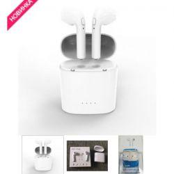 Wireless headphones I7S + POWER BANK