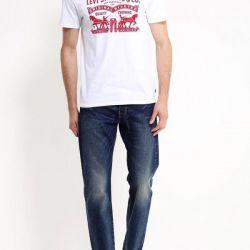 Новая американская футболка Levi's