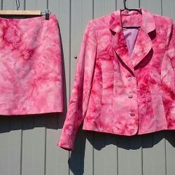 Kadın kıyafeti (ceket + etek) iki, r. 46-48