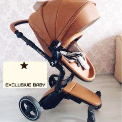 Bebek arabası FooFoo Vinng 2in1 kahverengi