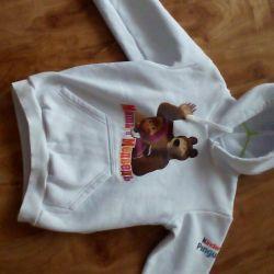 New warm sweatshirt 116-122