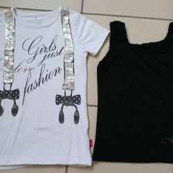 T-shirt and shirt p 134-140