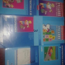 Textbooks and workbooks for grade 3