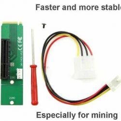 Adaptor PCI-E 1X / 4x pentru ngff M.2 M