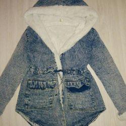 Park jacket 44-48 denim