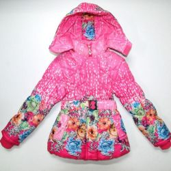Demi-season children's jacket