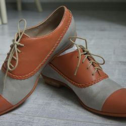 New leather shoes size 38