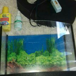 20l aquarium in a complete set