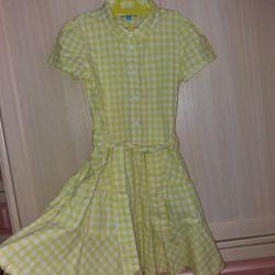 Нежное платье 9-10лет