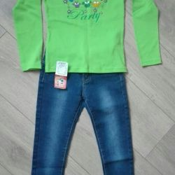 New blouse 128-134cm.