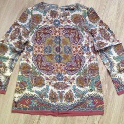 Yeni ışık yaz bluz gömlek