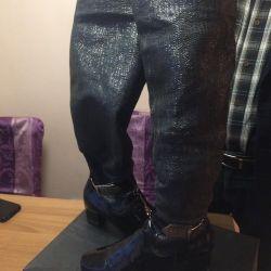 Κάλτσες μπότες Ιταλία 39 μέγεθος