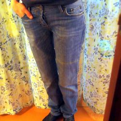Jeans unisex light summer, rr 27/32 (40-44)