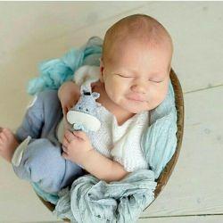 Παιχνίδια από τσόχα για φωτογράφηση νεογέννητο