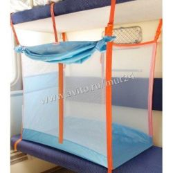 Playpen for the train blue