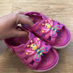 Flamingo sandals, new, free shipping