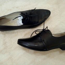 Women's shoes, leather, new 38-39r