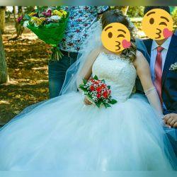 Wedding dress '' White swan ''