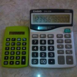 Hesap Makineleri CASIO DN-238 ve Cep