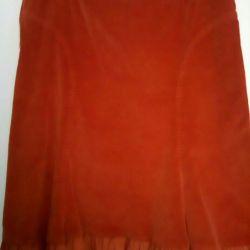 Micro-velvet skirt 48 times.