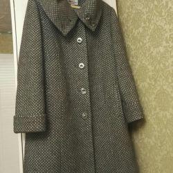 Пальто шерсть р.48-50