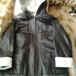 Jacket from genuine leather 46-48,