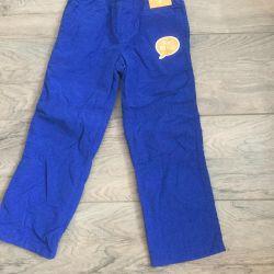 Новые штаны на микрофлисе