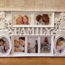 New photo frame with roses