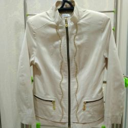 νέο ελαφρύ γυναικείο μπουφάν, μέγεθος 46