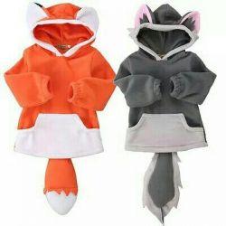 Fox costume (sweatshirt)
