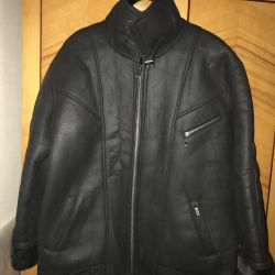 Sheepskin coat for men. Size 52-54; 48-50