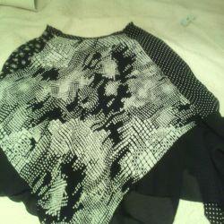 Юбка,италия,46_48разные ткани,подкладка