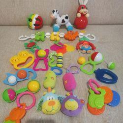 Soft pendant, rattles, toys, tumbler