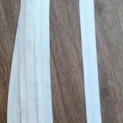 Lightning white spiral 90 cm