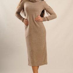 Kadın sıcak elbise arktik yeni