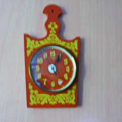 Ceas de perete cuarț Antares. URSS.