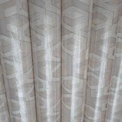 Contemporary white and creamy wallpaper EURODECOR