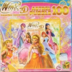 Παζλ Winx. 100 νέα στοιχεία