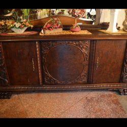 Dresser from the array, elegant carving.
