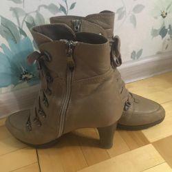 Sandra Valeri ankle boots natural