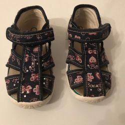 Детские сандали р.24 фирма Котофей