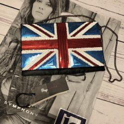 New bag pepe jeans English flag