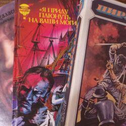 Korsanlarla ilgili Üç Kitap Macerası.