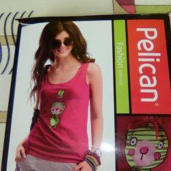 New T-shirt pelikan size 48-50