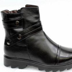 Half boots 36r-41r Genuine leather