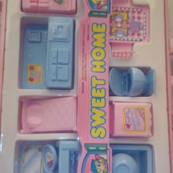 Set of toy furniture